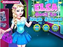 Printesa Elsa la Scoala