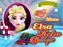 Elsa si Tinuta Retro