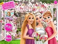 Elsa si Printesele Disney la Nunta