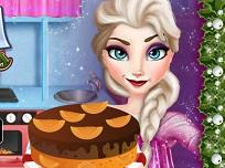 Elsa Face Tort de Craciun