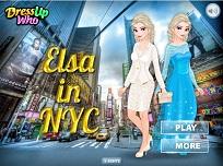 Elsa la New York