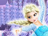 Elsa Curata si Impodobeste Bradul de Craciun