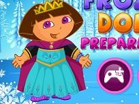 Dora Costumul Frozen