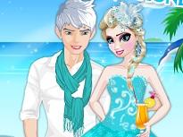 Jack si Elsa in Luna de Miere