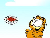 Garfield Mancare din Cer