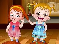 Fetita Hazel si Bunele Maniere