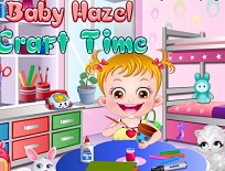 Fetita Hazel este Creativa