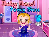 Fetita Hazel Imbracata Ciudat