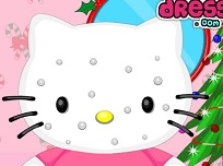Hello Kitty Machiaj de Craciun