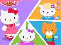 Hello Kitty Gaseste-i Prietenii