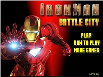 Iron Man Bataie in Oras