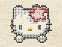 Broderie cu Hello Kitty
