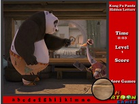 Kung Fu Panda Cauta Litere
