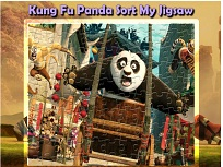 Kung Fu Panda in Puzzle