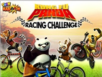 Kung Fu Panda pe Bicicleta
