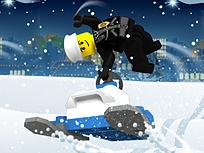 Lego City Acrobatii pe Zapada