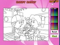 Manny Iscusitul de Colorat