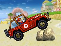 Mario Conduce pe Plaja