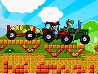 Mario Cursa cu Tractorul