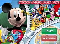 Mickey Mouse Math Quiz