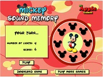 Mickey Mouse Memoria Sunetelor