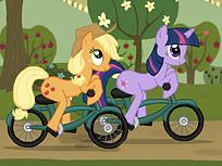 Micul Meu Ponei cu Bicicleta