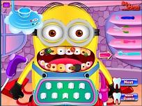 Minionul la Dentist