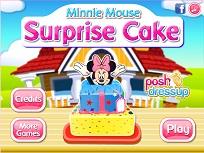 Minnie Mouse Tortul Surpriza