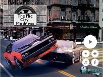 Nebunie in Traficul din Oras