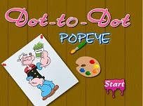 Popeye de Colorat