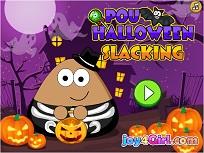 Pou Distractie de Halloween