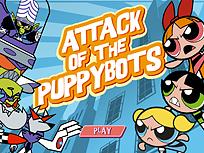 Fetitele Powerpuff Atacul Robotilor