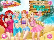 Printesele Disney si Distractia de pe Plaja