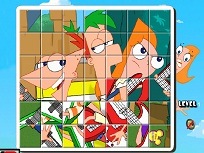 Puzzle rotit  Phineas si Ferb