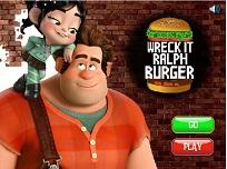 Ralph Face Hamburgeri