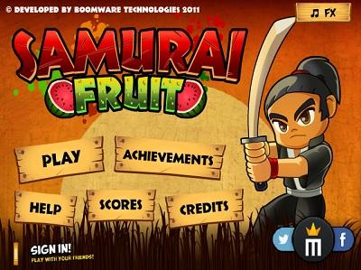 Samurai Fruits