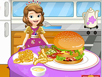 Sofia Intai Face Hamburger