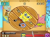Spongebob Arunca cu Cutitele