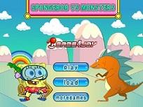 Spongebob Ataca Monstri