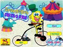 Spongebob Cursa la Circ