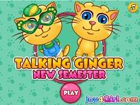 Talking Ginger Primul Semestru