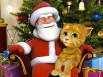 Talking Santa si Ginger