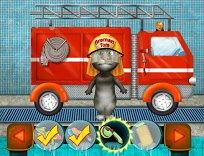 Talking Tom Pompier