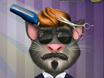 Talking Tom la Coafor
