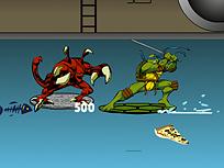 Testoasele Ninja Salveaza pe Splinter