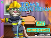 Talking Tom Pompier 2