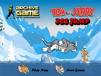 Tom si Jerry Sarituri pe Gheata