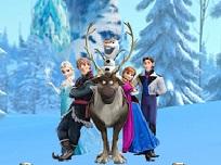 Gaseste Personajele Frozen